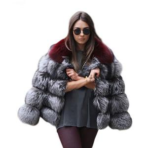 Designer Womens Faux Fur Coats Luxury Fluffy Winter Warm Clothing Fashion Womens Contrast Color Cardigan
