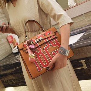 HANSOMFY Mulheres PU bolsas de couro de alta qualidade sacos de ombro Senhoras bolsas Moda Messenger Bag sac a X1-58 principal