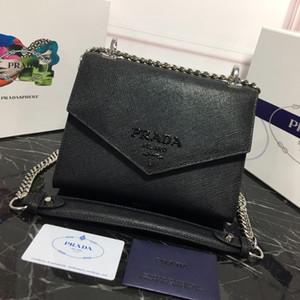 catena di lusso borsa tracolla diagonale signore di alta qualità di design in pelle nera piccola borsa donne quadrati di lusso piccoli sacchetti regalo 127