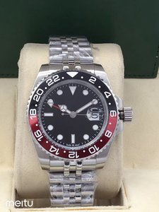 luxe en gros Rose, G MT, mouvement Pearl, montre-bracelet mécanique entièrement automatique de l'homme, super imperméable à l'eau, la livraison gratuite