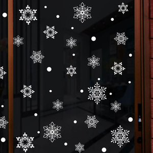 Ventana estática etiqueta engomada del sitio decoraciones de Navidad para niños