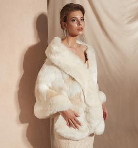 MAGGIEISAMAZING Оптовая поддельные искусственного меха Голливуд гламур Моды прикрыть Мыс дешевые свадебные обертывания куртки CYH0pj18100