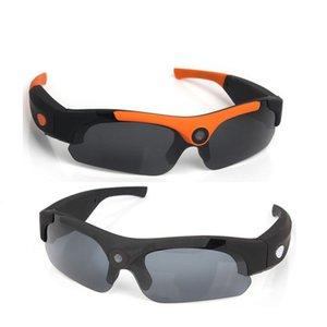 الرياضة النظارات الشمسية مع وظيفة الكاميرا 1080P HD النظارات الشمسية المستقطبة الرياضة كاميرا 120 درجة زاوية واسعة ركوب الخيل في الهواء الطلق الرياضة النظارات