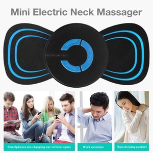 Mini Electric Neck Massager USB Charging Battery Model Neck Pain Relieve 6 Levels Massage Intensity Meridian Cervical Massager