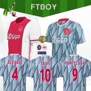 20 21 Ajax-wegfußball Jersey PROMES ALVAREZ Ajax 2020 2021 camiseta de fútbo VAN DE BEEK TADIC ZIYECH FUSSBALL SHIRT MEN Kindeinstellt Uniform