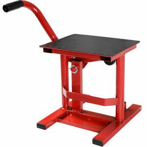 Adjustable Lift Stand Dirt Bike Motorcycle Motocross Racing Maintenance Steel
