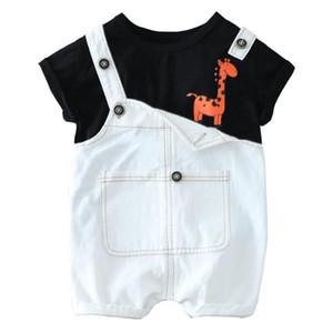 KEAIYOUHUO Neue Baby-Kleidung-Kind-Kleidung Sets Kleinkind-Jungen-beiläufige Klage-Kinder-Kostüme für Klage-Kind-Outfit Overalls 1-4