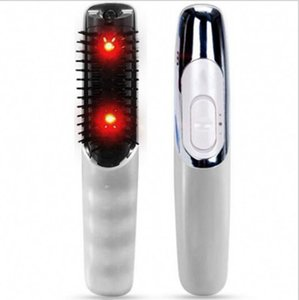 Electric Scalp Massage Comb Vibration Infrared Laser Heating Healthy Hair Massager Comb Handheld Comb Massagers Hair Brushes