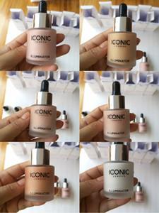 2018 Iconic Londres iluminador líquido Marcador Em brilhar maquiagem originais foundshine brilhar três viradas cor compo marcador 3 color22018