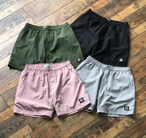 pantalones de playa de verano Reino Unido populares de trabajo para hombre pantalones cortos detalle de banda Beach Street metal función de los útiles eur cortocircuitos del tamaño resistente a la rotura