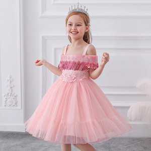 Flower Girl Dress Summer Tutu Princess Wedding Birthday Party Kids Dresses For Girls Children's Costume Teenager Prom Designs