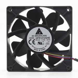 Arbeiten für Delta QFR1212GHE QFR1212GHE-PWM 4P 12V 2.7A 12038 Server-Kühllüfter 120 * 120 * 38mm für Bitcoin Miner