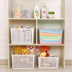 Household Products3043 Office Plastic Storage Basket Desktop Storage Basket Bathroom Storage Box Kitchen Baking Display Frame