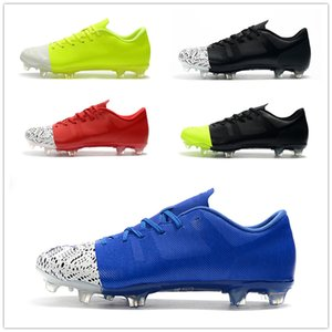 2019 New Mercurial Superfly 360 GS FG Calzado de fútbol para hombre Superfly Crampons De Football Boots Chuteira Black Men World Cup de fútbol Botines