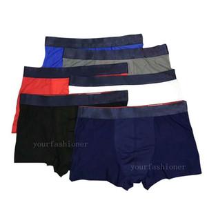 De malla nuevo Ropa interior para hombre boxer transpirable hombre atractiva de la ropa informal Inicio Gay cómodo Ropa interior Calzoncillos Boxer