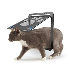 Pet Malzemeleri Paw Şekil Baskı Anti-ısırık Küçük Doggie Köpekler Kedi Kapı Pencere Ekran Için Kedi Mobilya Scratchers RRA1738