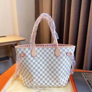 Excellent Quality Orignal real leather fashion women shoulder bag Tote designer handbags presbyopic shopping bag purse luxury messenger ba67