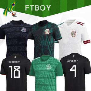 19 20 Mexico H.LOZANO DOS SANTOS Chicharito Futebol camisa 2019 adulta 2020 camisa kit mulher homens crianças menino esportes de futebol