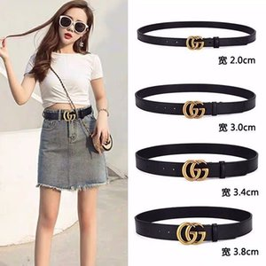 belt fashion brand belt men's and women's brand designers belts gold buckles party jeans free shipping