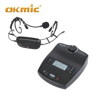 OKMIC OK-9R / OK-16 Audífonos inalámbricos Recogidas de micrófonos Sistema inalámbrico Para entrenamiento físico Entrenadores Enseñanza Actividades al aire libre