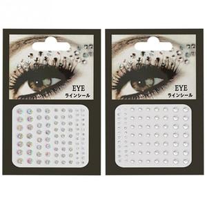 Decorazioni per unghie Decorazioni per il viso Body Crystal Temporary Eyes Tattoo Festival Party Glitter per il corpo Flash Strass