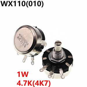 WX110 010 WX010 1W 4.7K 4K7 Potentiometer Adjustable Resistors