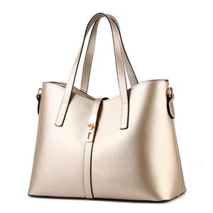 Borse borse femminili in pelle a spalla femmina moda oro crossbody totes borse borsa da donna borse da donna kasun