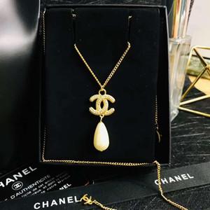 Designer's new diamond drip pearl necklace Luxury designer jewelry women necklace