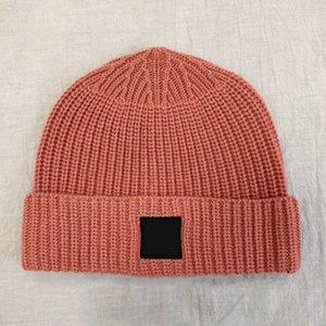 19FW LÃ BEANIE Fria Cap Moda chapéu morno confortável Casal Mulheres Homens E' S Designer Hat HFXHMZ008