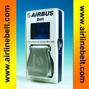 Present box Pack Autozubehör Flugzeug Schnalle AIRBUS Schwarz Flugzeug Flugzeug Flugzeug Airline Seat Belt Extender Verlängerungsband