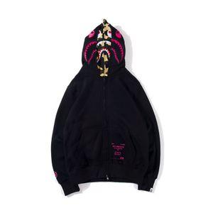 Logo ile 19SS Erkek Tasarımcı Ceketler Ape Sweatershirt Kutusu kapalı Bir Yüzme Aape Ape Erkek Kadın Giyim Spor Gündelik Giyim Beyaz Ape Ucuz Hoodie