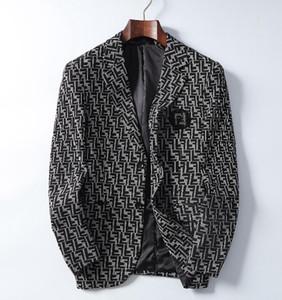 2020 neue internationale Jacke Premium Männer modische Jacke Cotton High-End-Anzug