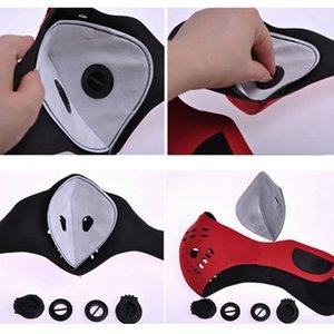 Máscara facial de Ciclismo DHL Filtro MTB Equipamento de ciclagem rodoviária anti-poeiras PM2, 5 substituição por filtro de carbono activo protecção