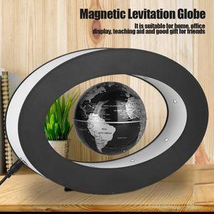 LED Işık Ev Görüntü Çocuk Öğrenme Oyuncak Y200104 ile Globe Dünya Haritası Yüzer Elektronik Anti Yerçekimi Globe Manyetik Levitasyonunun