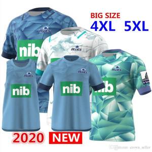 Горячие продаж 2020 блюз Primeblue Супер Регби Джерси Новая Зеландия дома регби Джерси рубашка блюз производительность тройник синглетного ы-формы 5XL