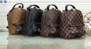 design de luxe sacs à dos femmes dame de mode vente chaude bijoux de sac à dos noir rouge PU cuir Livraison gratuite