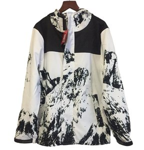 Neue Mensschneeberg gemeinsame dünne Sommerfrühlingsherbstmäntel Männer s Pullover wasserdicht max Eu Größe 2XL Reißverschluss breite Natur Jacken Designer