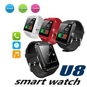 U8 relógio de pulso bluetooth smart watch smartwatch para iphone 4 4s 5 5s 6 6 s 6 mais samsung s4 s5 nota 2 nota 3 htc android telefone smartphones