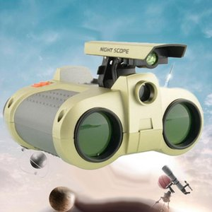 4x30mm foldable night vision kids binoculars telescope children education toy gift for children kids birthday party body shapewear