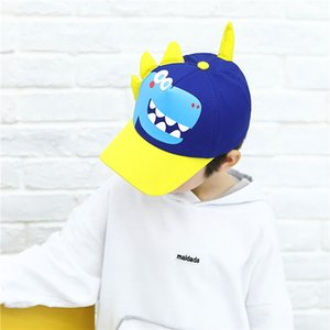 Spring Autumn Baby Hat Cartoon Dinosaur Baby Boys Baseball Cap Fashion Casual Outdoor Girl Hat Kids Children Snapback Hat