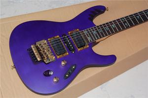 Floyd Rose Tremolo, HSH 픽업, 골드 하드웨어 -17-11, 맞춤형 퍼플 스트링 일렉트릭 기타