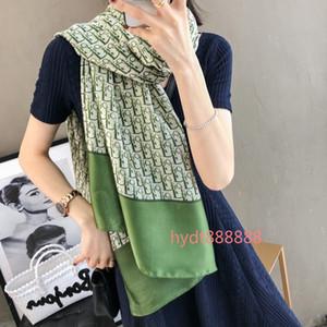Новый самый популярный оптовый шарф стильный женский солнцезащитный платок классический бренд печатный шарф мягкий тонкий шарф 180*90 см B01