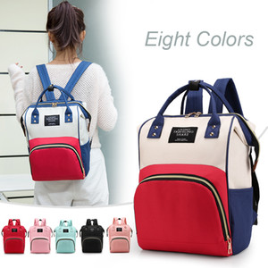 Large Capacity Mummy Bags Maternity Nappy Bag Travel Backpack Nursing Bag for Baby Care Women's Fashion Bag