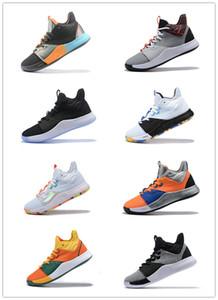 2019 Новое Прибытие Пол Джордж PG 3 х EP Palmdale PlayStation Мужская Баскетбольная Обувь Высокого Качества США Дизайнер PG3 3S Спортивные Кроссовки Размер 40-46