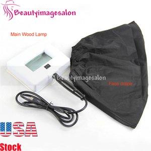 4 bulbos fluorescentes Salon Spa Facial UV Analyzer madeiras Lamp Venda Skin Care Products Para manchas escuras