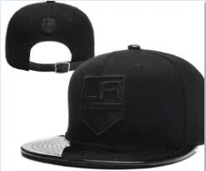 Cappellino sportivo sunhat Flat Brim Hockey Snapback Cappello KINGS LA Adjustable All Team Baseball Snapbacks Cappello alta qualità 01
