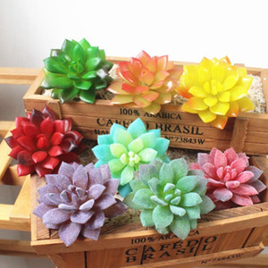 8PCS Artificial Simulated Succulent Fleshy Plants Garden Home Office Table Decor Wedding Birthday Party Favors Decorations