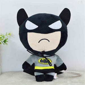 Горячие мультфильм Бэтмен куклы Плюшевые игрушки для детей игрушки Мстители куклы украшения рабочего украшения автомобиля Детские игрушки