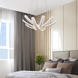 Nordic Moderne Minimalist Acryl Foyer Küche Esszimmer Wohnzimmer Leuchttisch Led Moderne Kronleuchter Beleuchtung LED-Leuchten