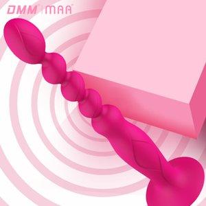 Женщины Вибратор Прицепного бисера Anal Plug Прочный портативный Секс стимуляторы игрушка All-доставка